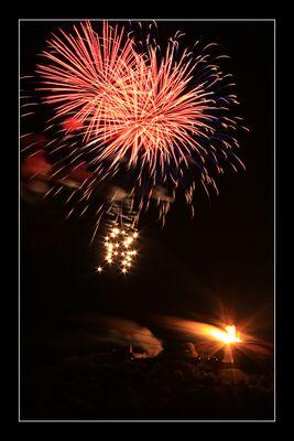 Drei Gleichen Feuerwerk 2011