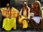 Drei Heilige Sadhus