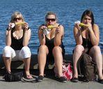Drei Kieler Woche Girls