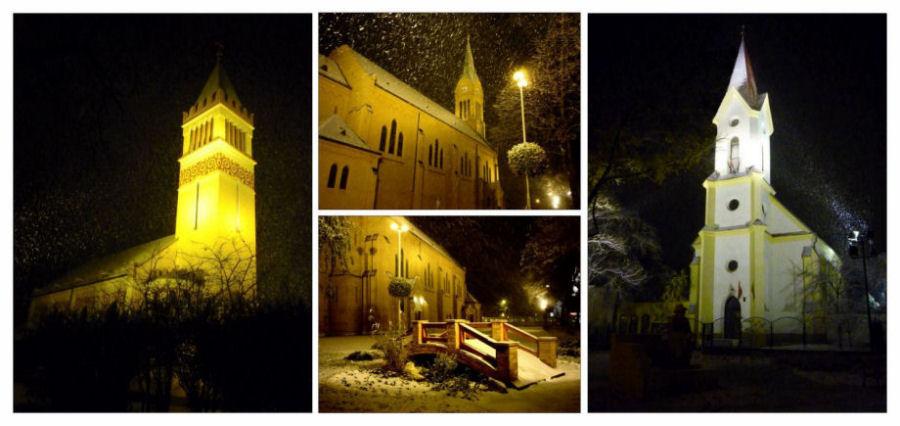 Drei Kirchen in Budapest....