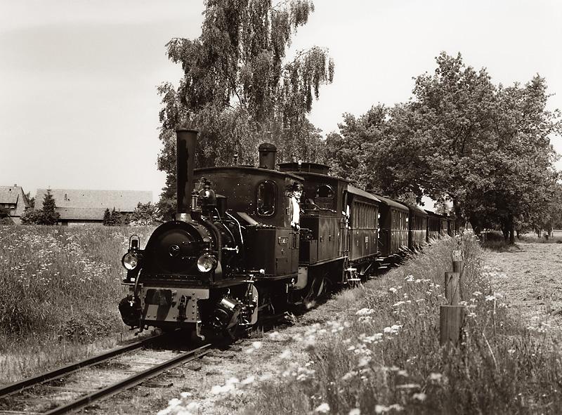 Drei Loks für so einen kleinen Zug ...?