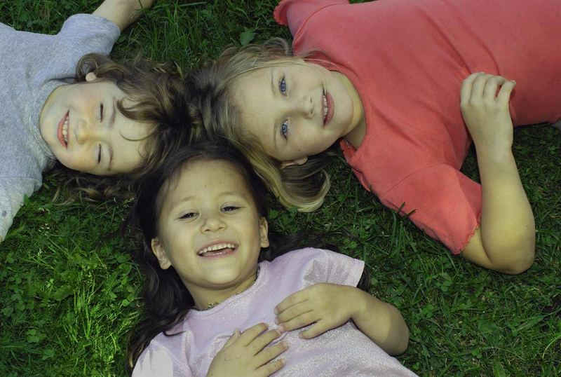 Drei lustige Kinder!