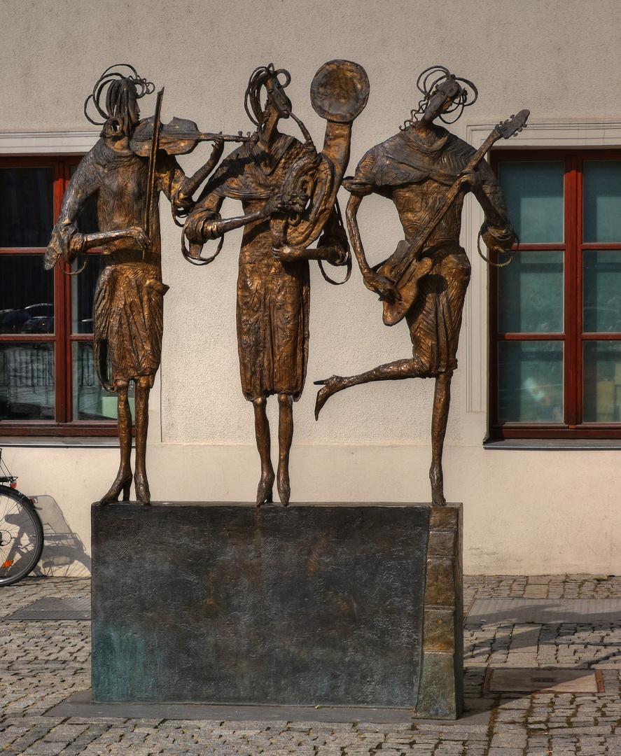 Drei Musen der Musik