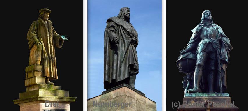 Drei Nürnberger