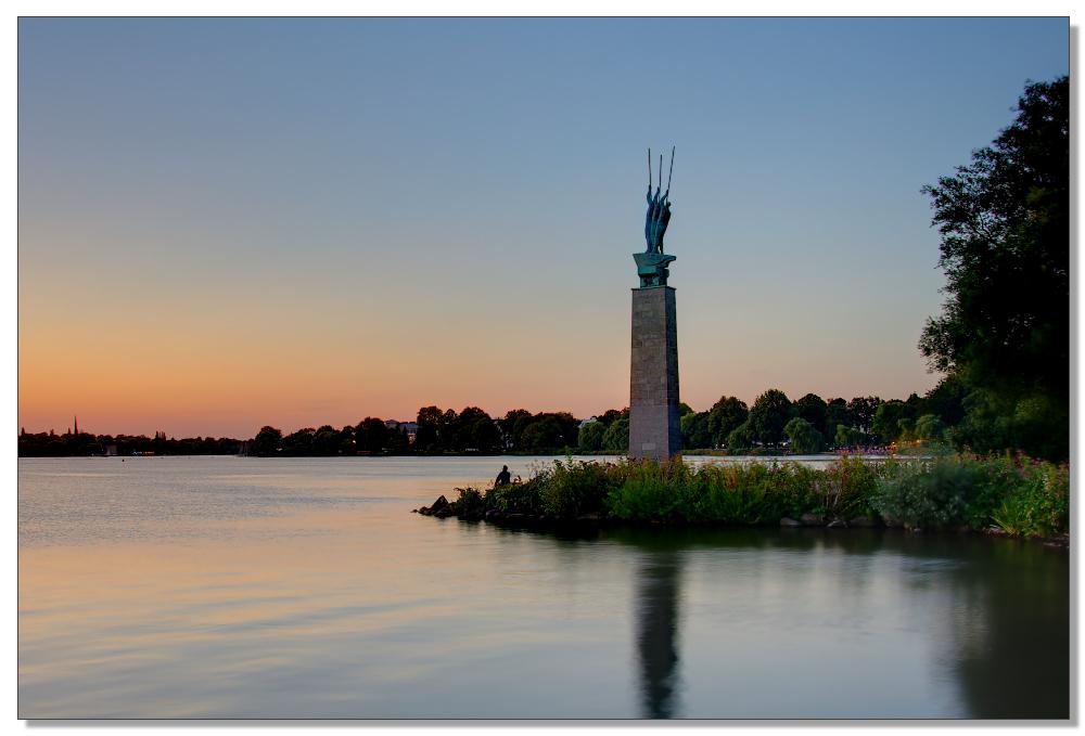Drei Seefahrer Denkmal
