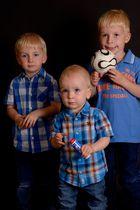 Drei süße Lausbuben