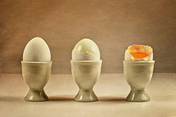 Dreierl-Ei