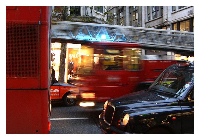Dreifach Londontypisch