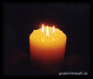 """""""Dreifaltige"""" Kerze"""