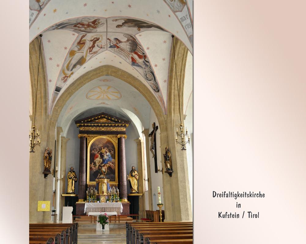 Dreifaltigkeitskirche Kufstein