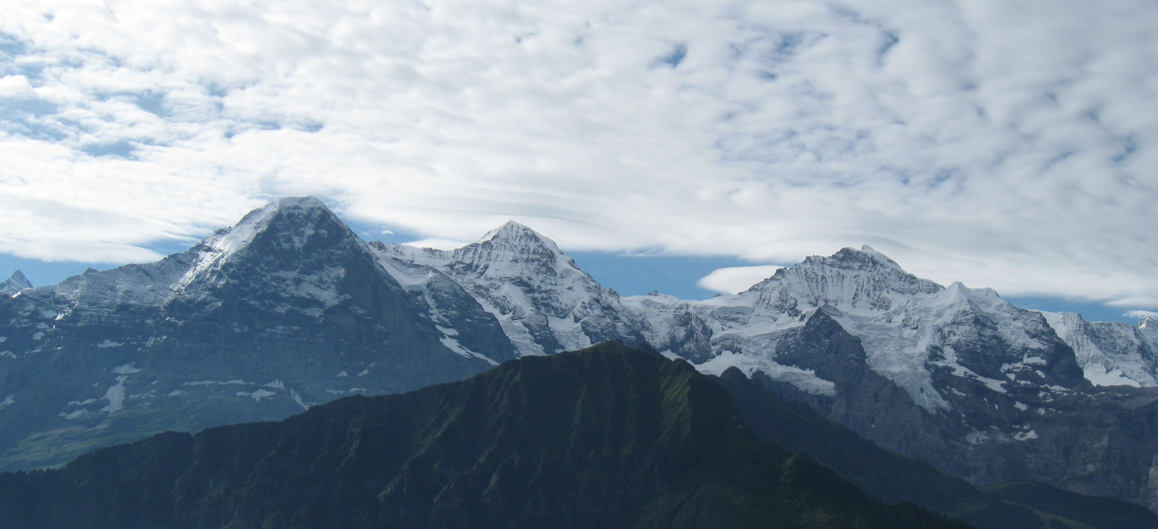 Dreigestirn Eiger,Mönch und Jungfrau