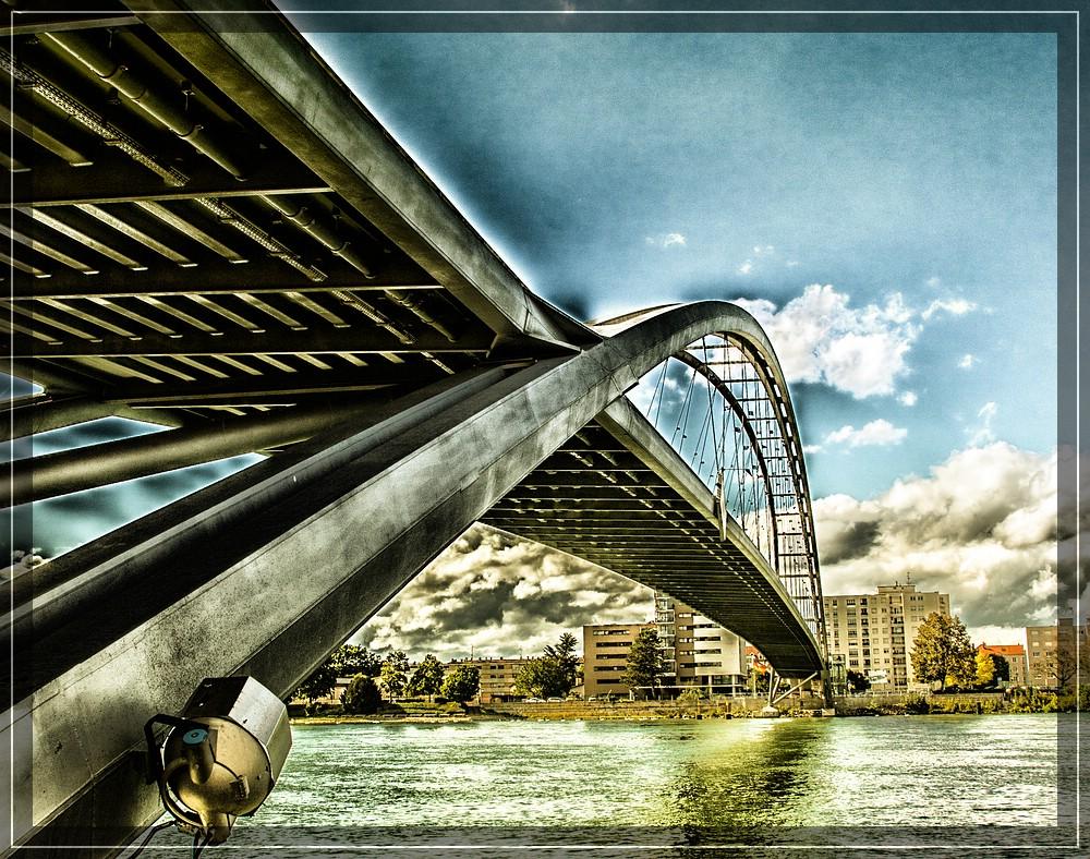 Dreiländerbrücke - Passerelle des Trois Pays