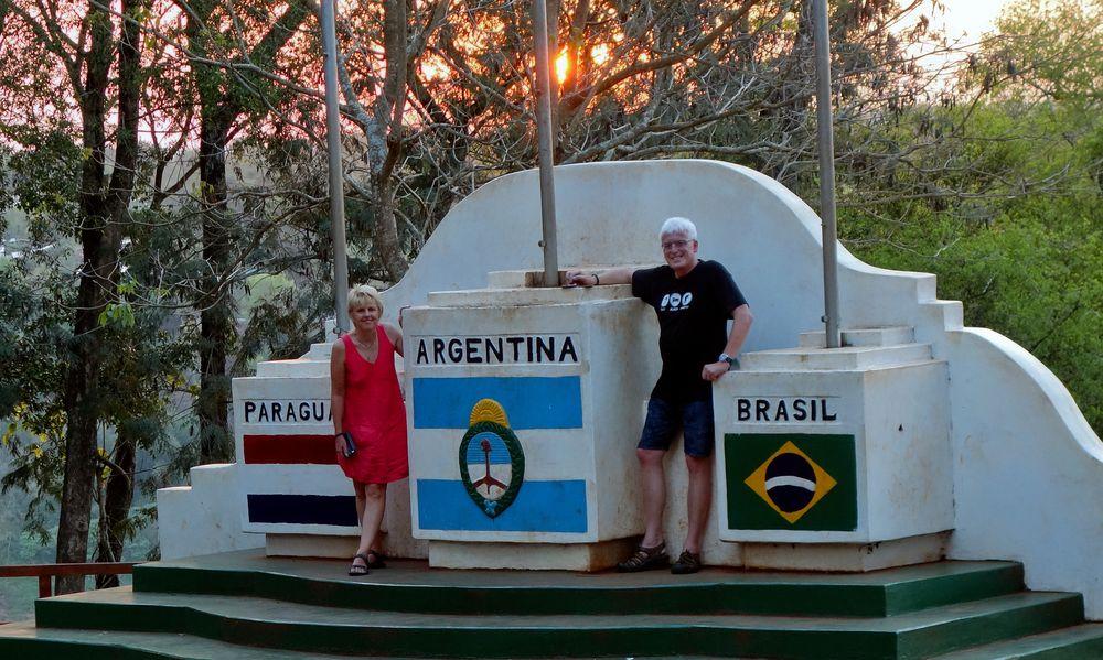 Dreiländereck bei Iguacu