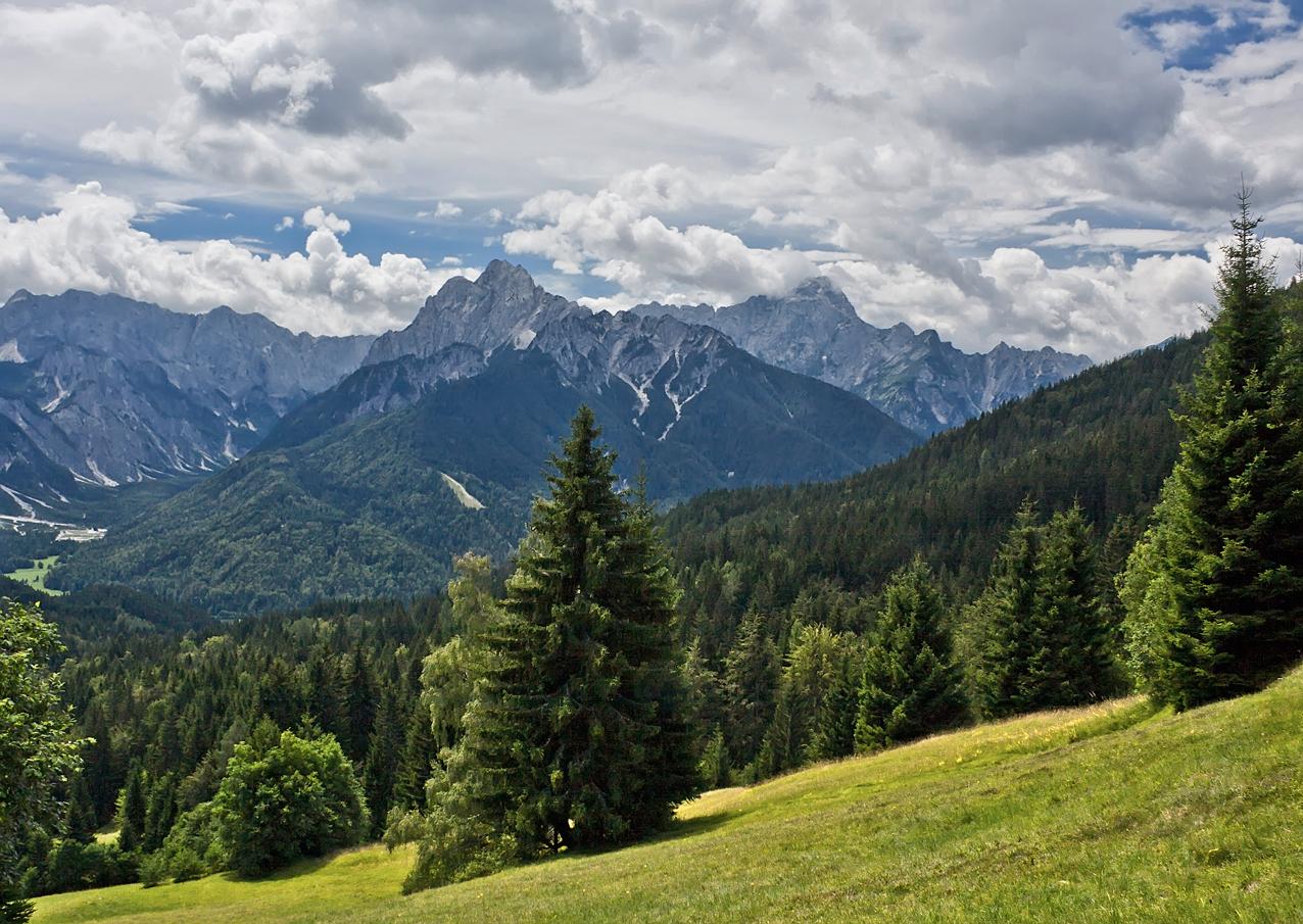Dreiländereck Österreich, Slowenien, Italien