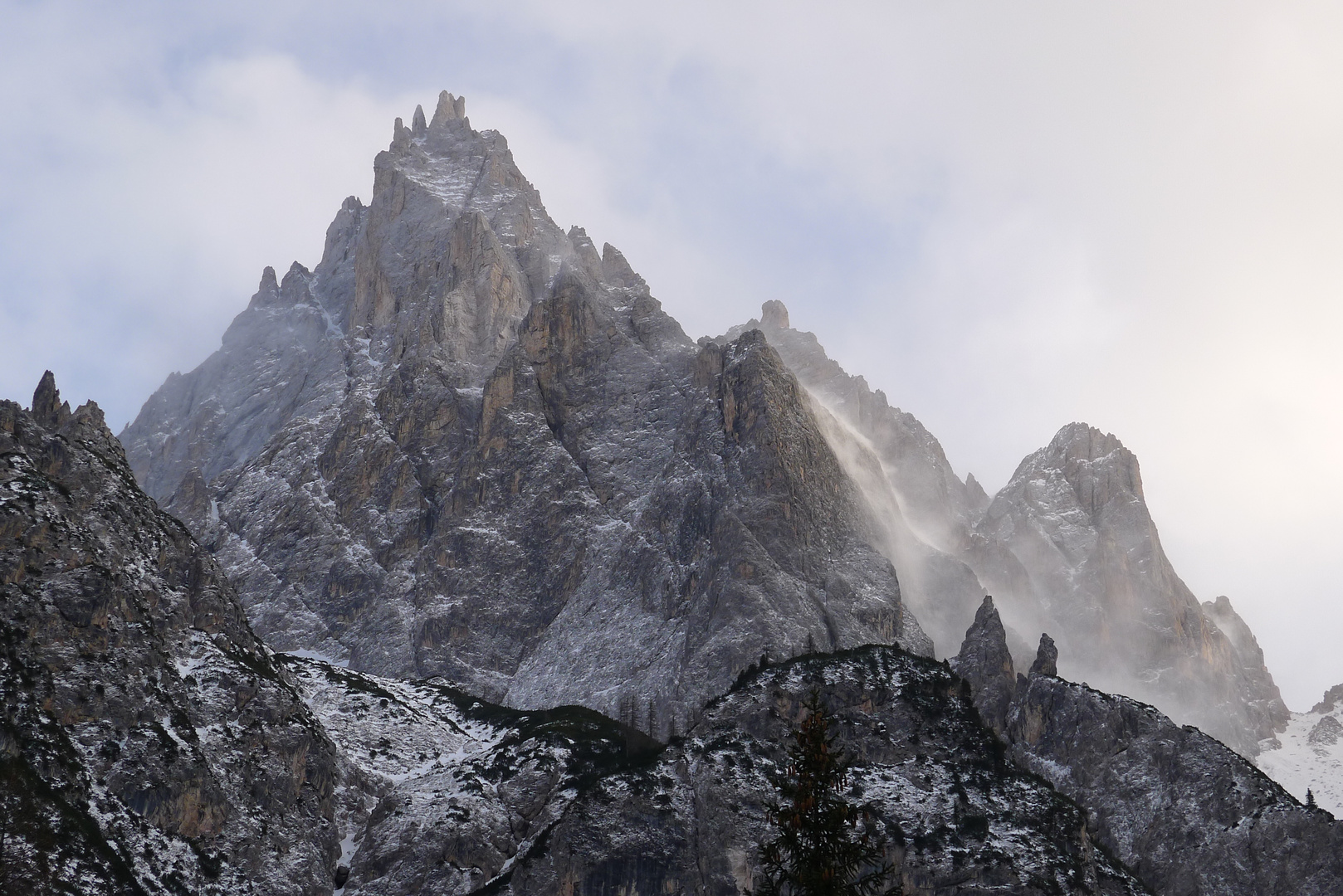 "Dreischusterspitze - Punta dei Tre Scarperi - ""Oberland"""