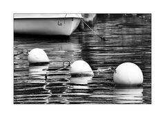Drei...vor einem Boot ;-)