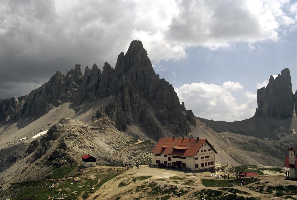 Dreizinnenhütte(dolomiten
