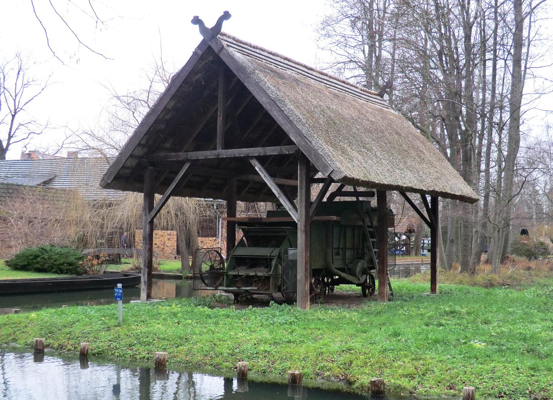 Dreschplatz für Getreide