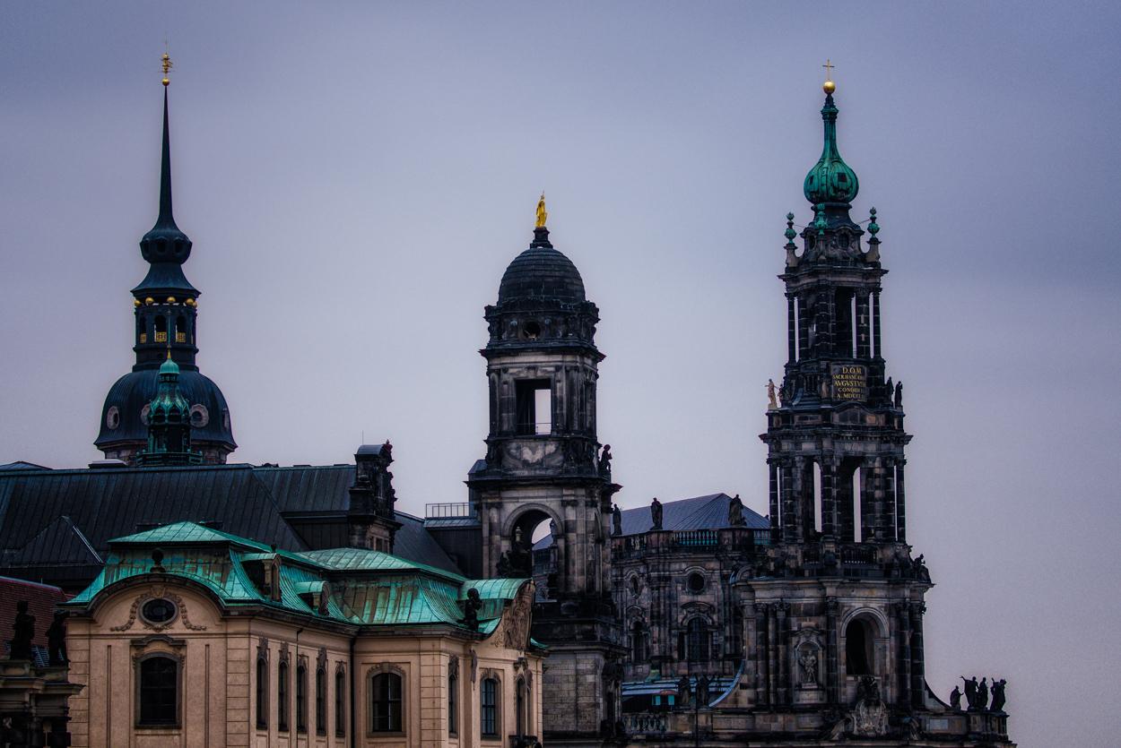 Dresden... #16 - Dachlandschaft