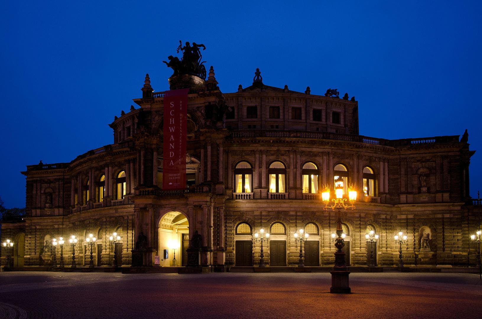 Dresden (3): Die Semperoper