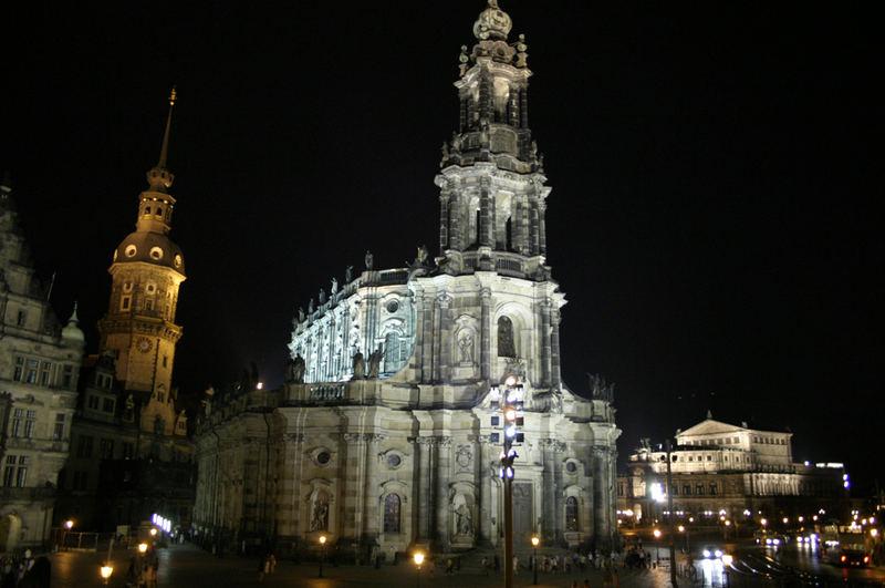 Dresden am späteren Abend