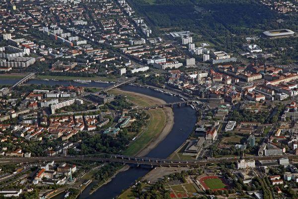Dresden an der Elbe