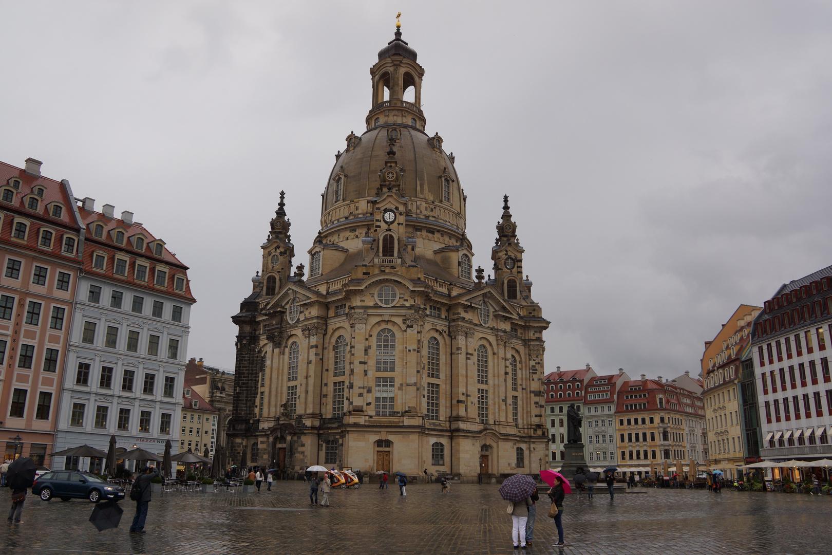 Dresden - auch bei Regen schön!