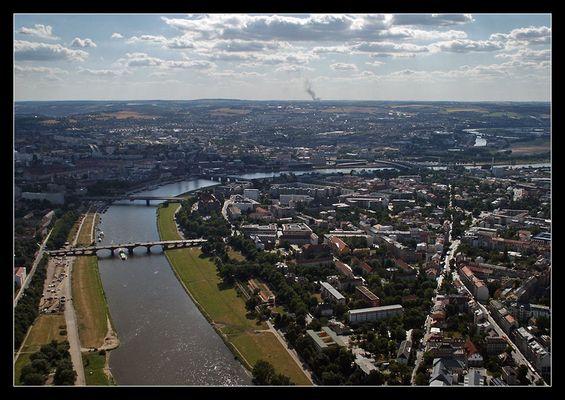 Dresden aus der Luft (II)