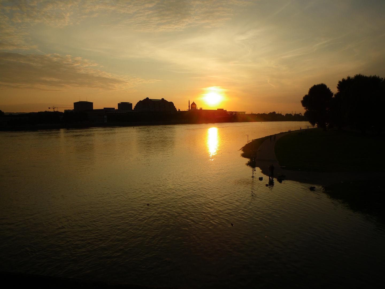 Dresden bei Abendsonne
