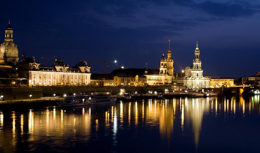 Dresden bei Nacht 1