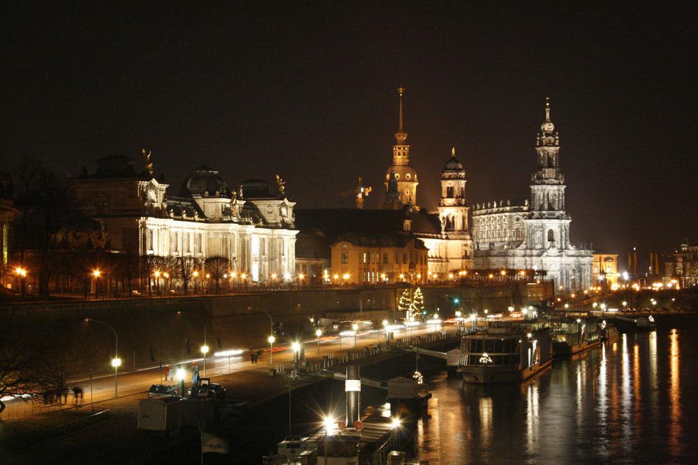 Dresden bei Nacht...