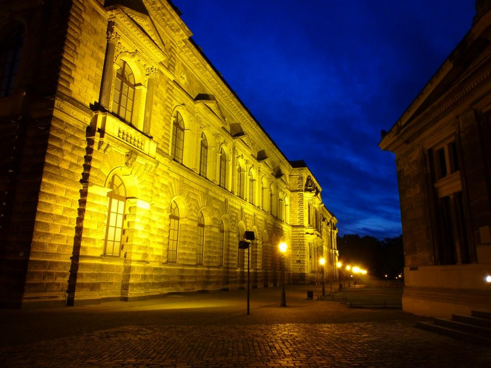 Dresden bei Nacht 3