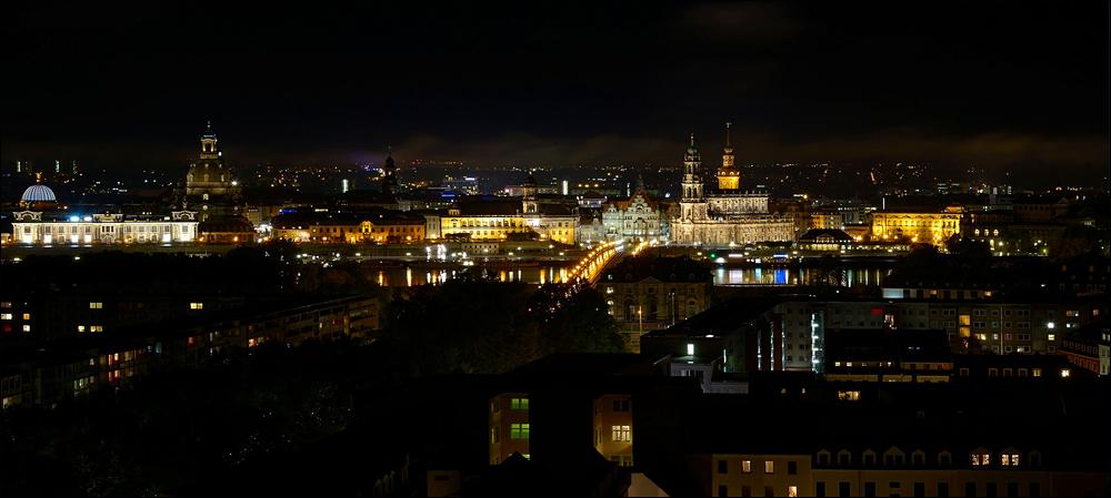 Dresden bei Nacht ...,