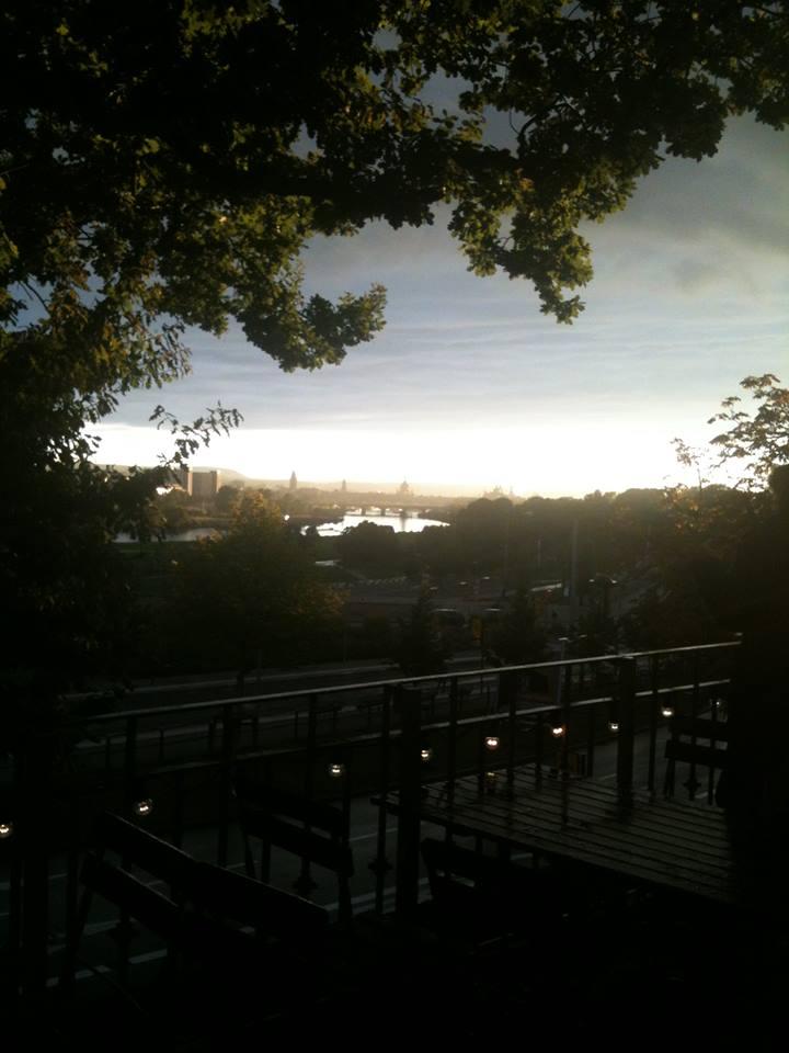 Dresden bei Regen