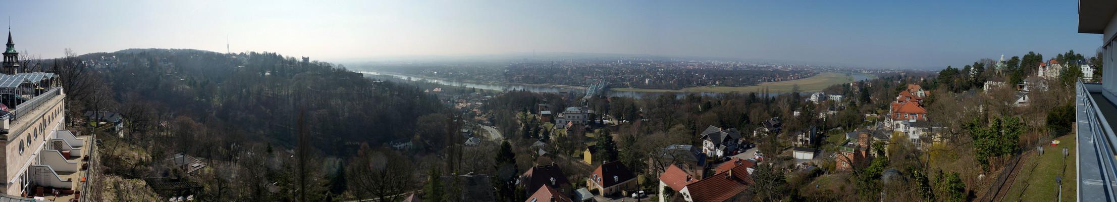 Dresden - Blick vom Luisenhof