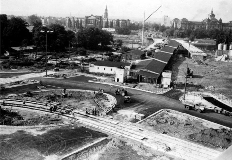 Dresden Carolabrücke 1969