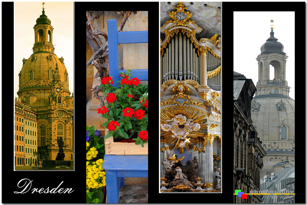 Dresden - Collage