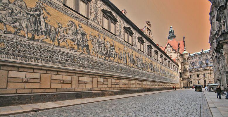 Dresden - der Fürstenzug 2