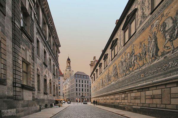 Dresden - der Fürstenzug