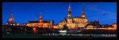 Dresden - Die Altstadt bei Nacht