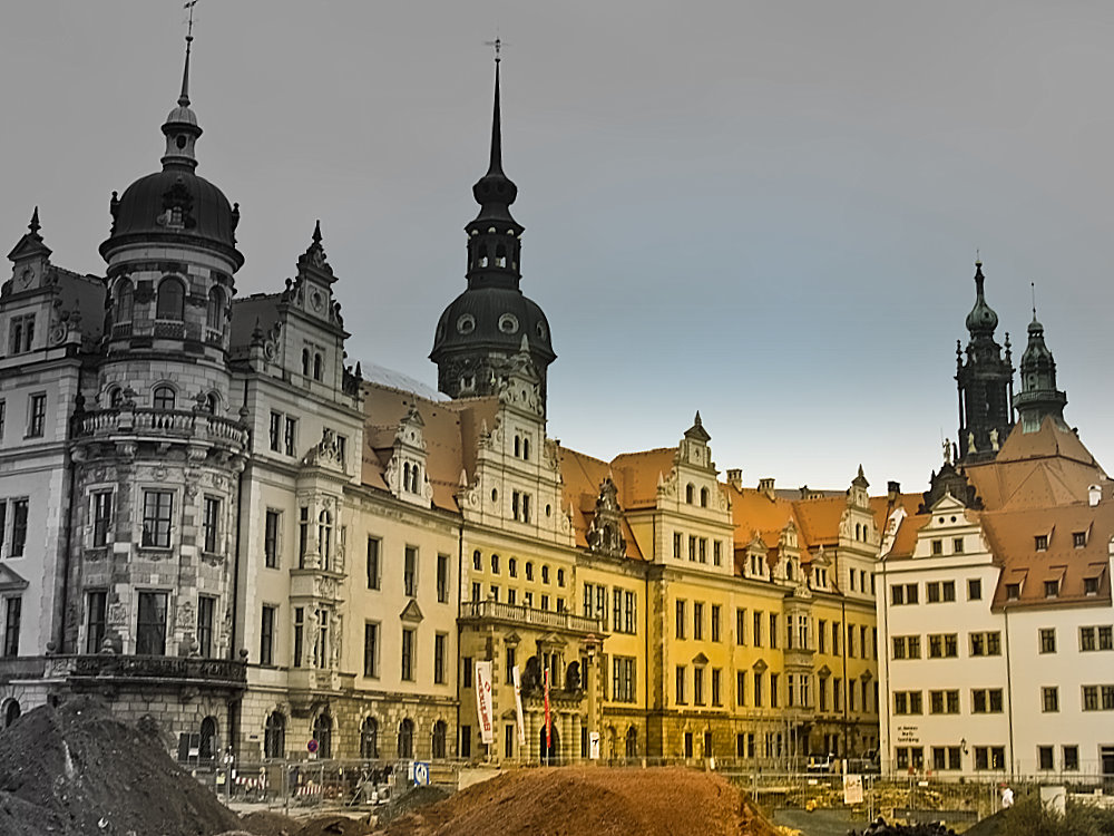Dresden - Ewige Baustelle