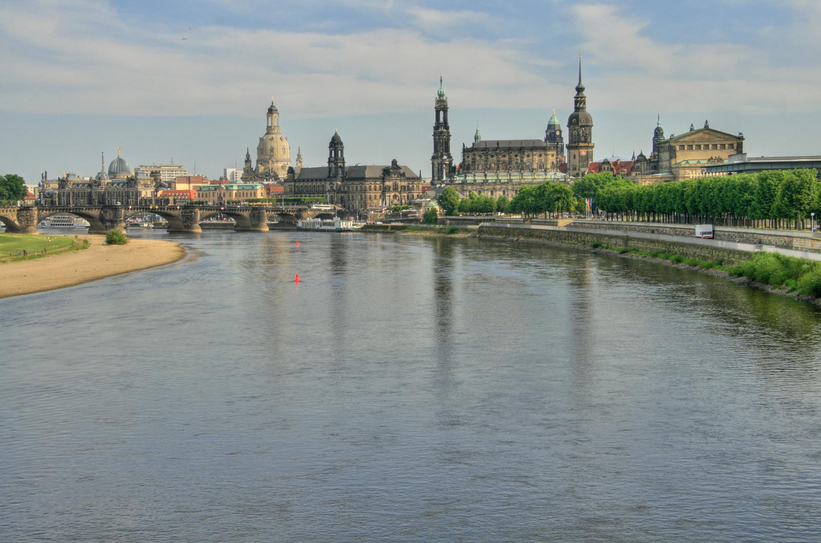 Dresden Flußblick