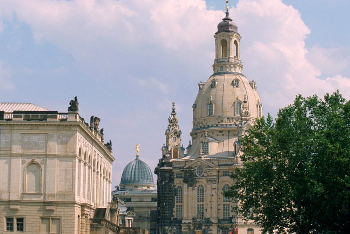 Dresden Frauenkirche u. Kunstakademie