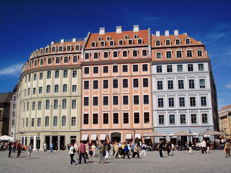Dresden Hausfront