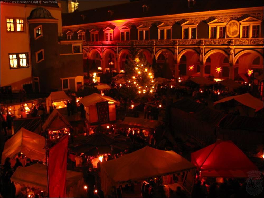 Dresden - Historischer Weihnachtsmarkt im Stallhof