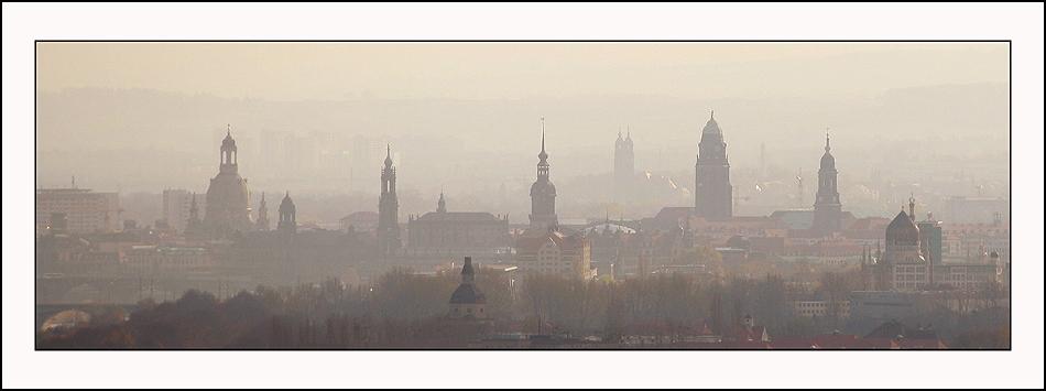 Dresden im November III-weiß