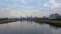 Dresden im Oktobermorgengrau