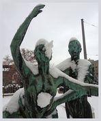 Dresden im Schnee oder: Kaltes Herz meets Pinocchio