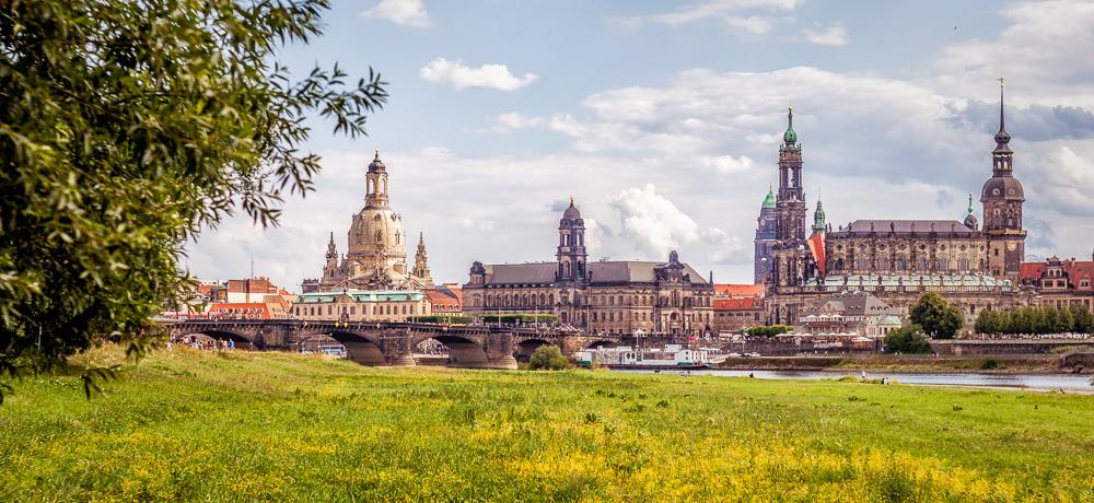 Dresden im Sommer