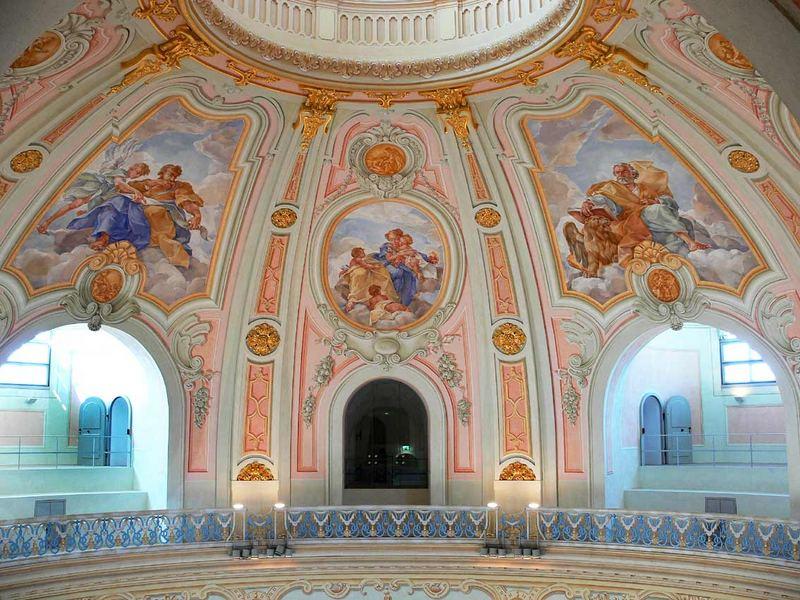 Dresden - in der Frauenkirche